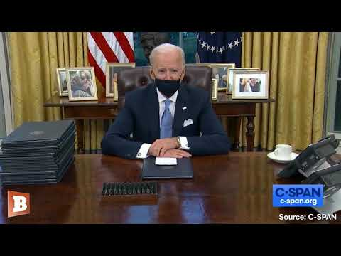 Biden Signs Executive Orders on Day One: Mask Mandate, Rejoining Paris Climate Accord, And More