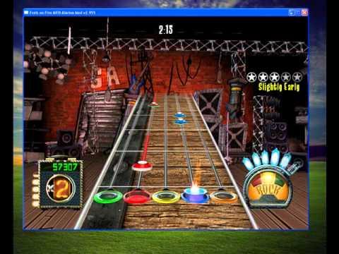 Guitar Hero 3 song Clavado en un bar