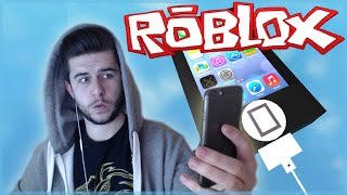 ROBLOX - ESCAPE THE iPhone! Parkour Madness! (Roblox Fun)