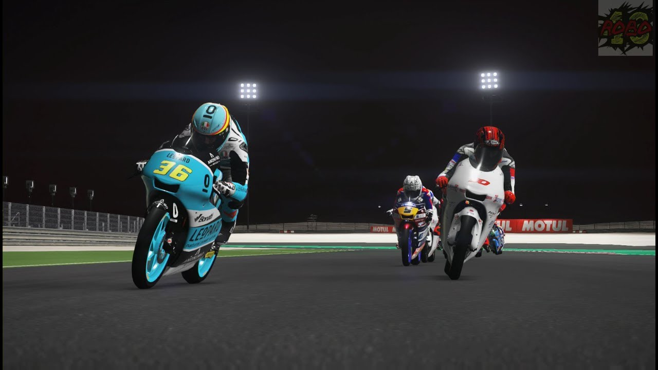 MotoGP 17 | Rider Career Pt 2: Riding For The British Talent Team - YouTube