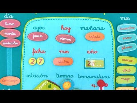 El paso del tiempo calendario infantil lilliputiens de for Cerco in regalo tutto per bambini