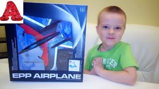 Обзор EPP AIRPLANE -  Самолет на пульте управления - распаковка