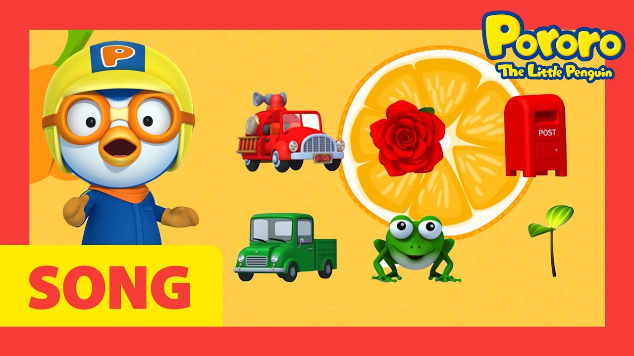 Color Song | Nursery Rhymes | Songs for Kids | Learn Colors with Pororo