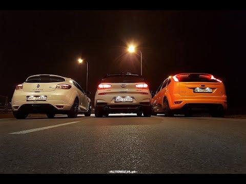 Hyundai i30N vs Ford Focus ST vs Renault Megane RS sound battle