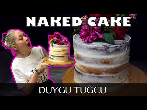 Naked Cake Tarifi 🎂| Kolay Ve Pratik Yapımı 🎂 | Chef Duygu Tugcu