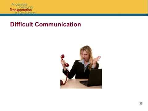 Easter Seals Project ACTION webinar: Transit Call Centers: A Front Line in Customer Service!