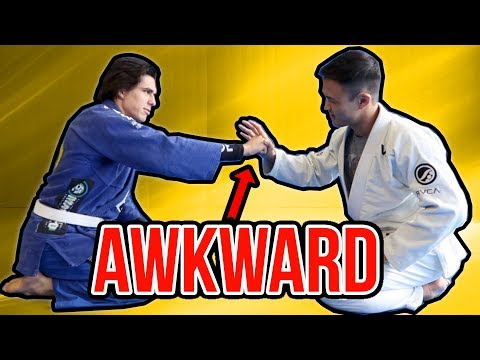 AWKWARD Moments in Brazilian Jiu Jitsu | LiveTheMachLife