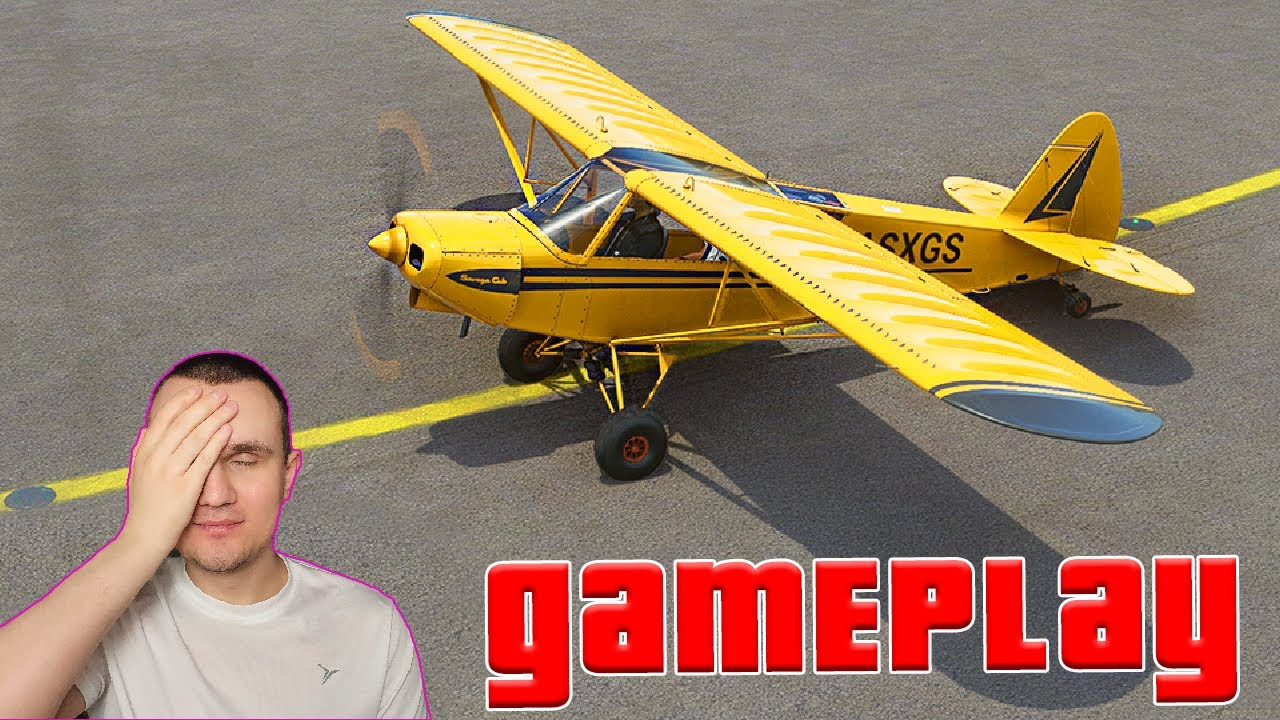 Learning To Fly a Single Engine Airplane - Microsoft Flight Simulator