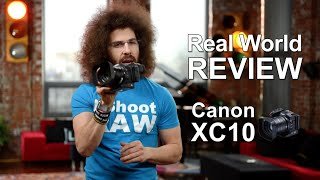 is the Canon XC10 4K Camcorder the real deal? Unboxing and Sniff Test