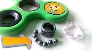Cómo meter las bolas en el spinner fácilmente