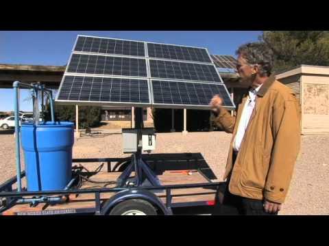 Renewable Energy Solar Water Pump Youtube