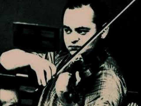 Michael Rabin plays Tzigane by Ravel