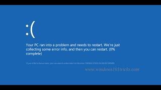 Solved: thread stuck in device driver windows 10 Blue Screen Error 2019