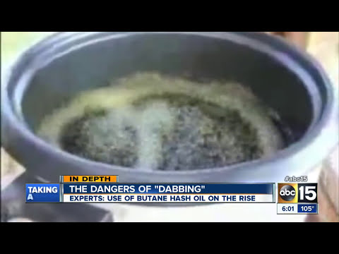 "The dangers of ""dabbing"""