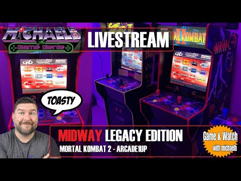 Arcade1Up Midway Legacy Edition Livestream | MichaelBtheGameGenie from MichaelBtheGameGenie