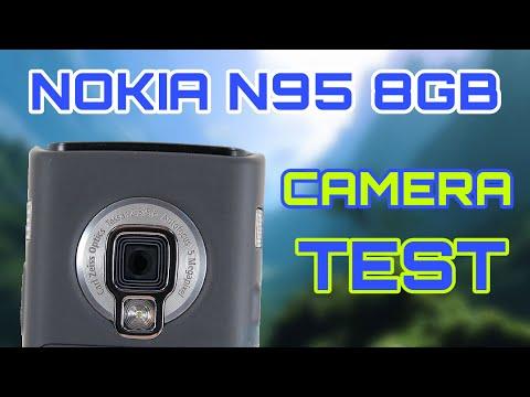 nokia n95 8gb camera test