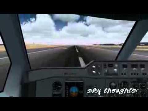 Airbus Beluga Cockpit Takeoff A300 600ST