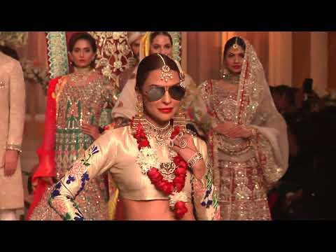 PANTENE HUM BRIDAL COUTURE WEEK 2017 | Ali Xeeshan  collection