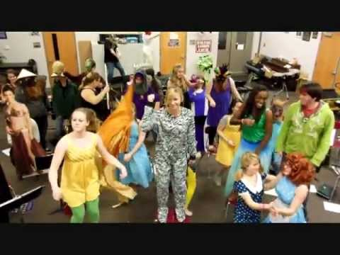 Trousdale County High School Concert Band HARLEM SHAKE!