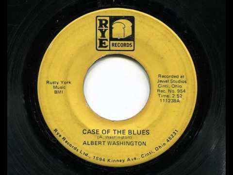 ALBERT WASHINGTON - Case of the blues - RYE