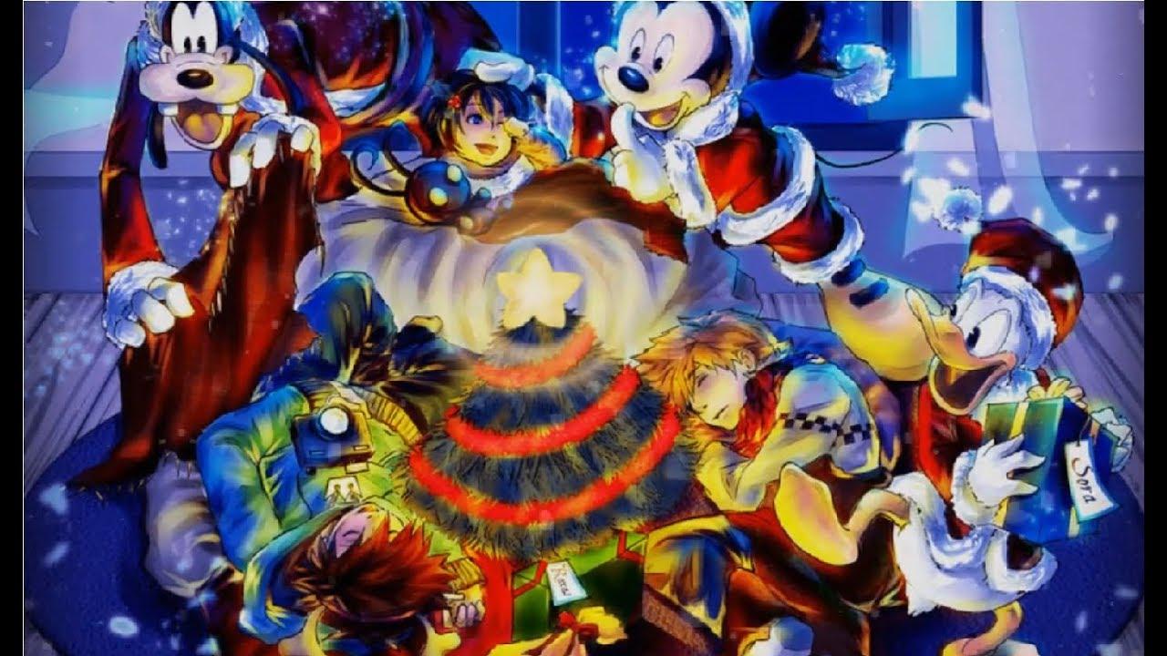 Kingdom Hearts Christmas.Merry Christmas Kingdom Hearts Avatar Assassin S Creed And Ff15