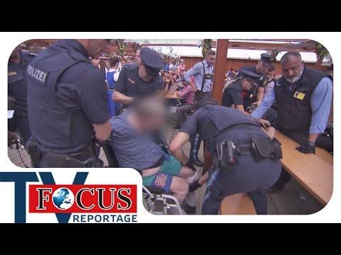Raub im Rausch: Einsatz für die Hofbräu-Security - Focus TV Reportage