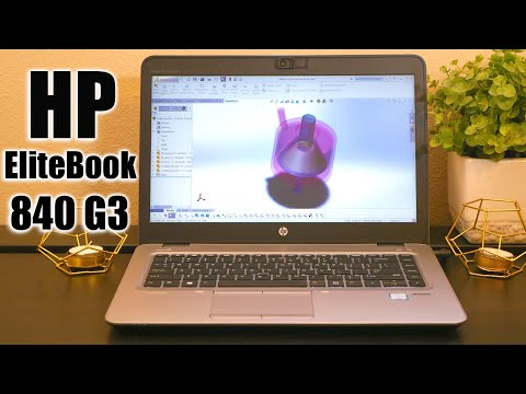 HP EliteBook 820 Review - YouTube