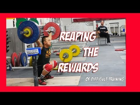 Reaping the rewards of difficult training at California Strength
