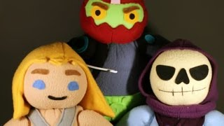 MOTU Plush Characters By Handmade Stuffs Fan Art Fridays Video Special MOTUCFigures.com Review