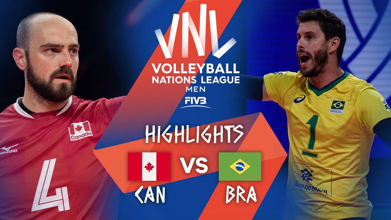 Download CAN vs. BRA - Highlights Week 1 | Men's VNL 2021