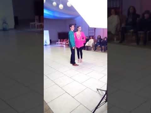 Paulina Romo & Aakash Bhardwaj present  Indian  clothing in fashion expo.