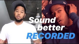 Quick Tip: Sound Better Recorded