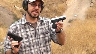Video Beretta Nano Vs Kahr CM9 at the Range download MP3, 3GP, MP4, WEBM, AVI, FLV Juli 2018