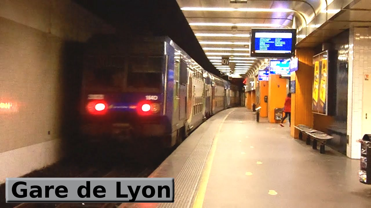 Gare de lyon rer d paris sncf z20500 youtube - Chambre d hote paris gare de lyon ...