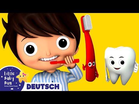 So putzen wir unsere Zähnchen   Kinderlieder   LittleBabyBum