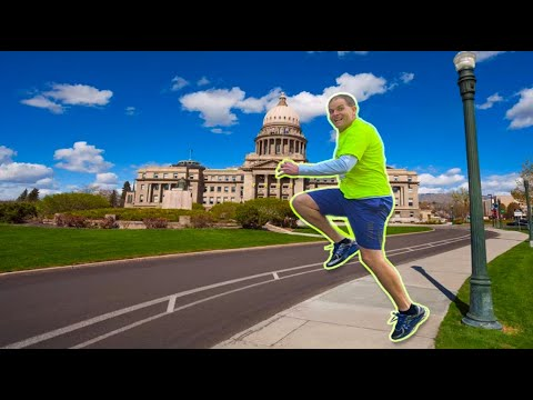 Melissa Forman in the Morning - Man sets Guinness World Record for Skipping an entire marathon