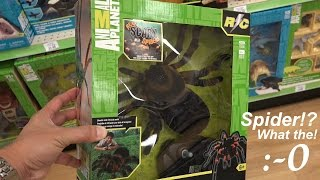 Animal Planet's R/C Spider Unboxing & Playtime w/ Hulyan & Maya 1 of 2