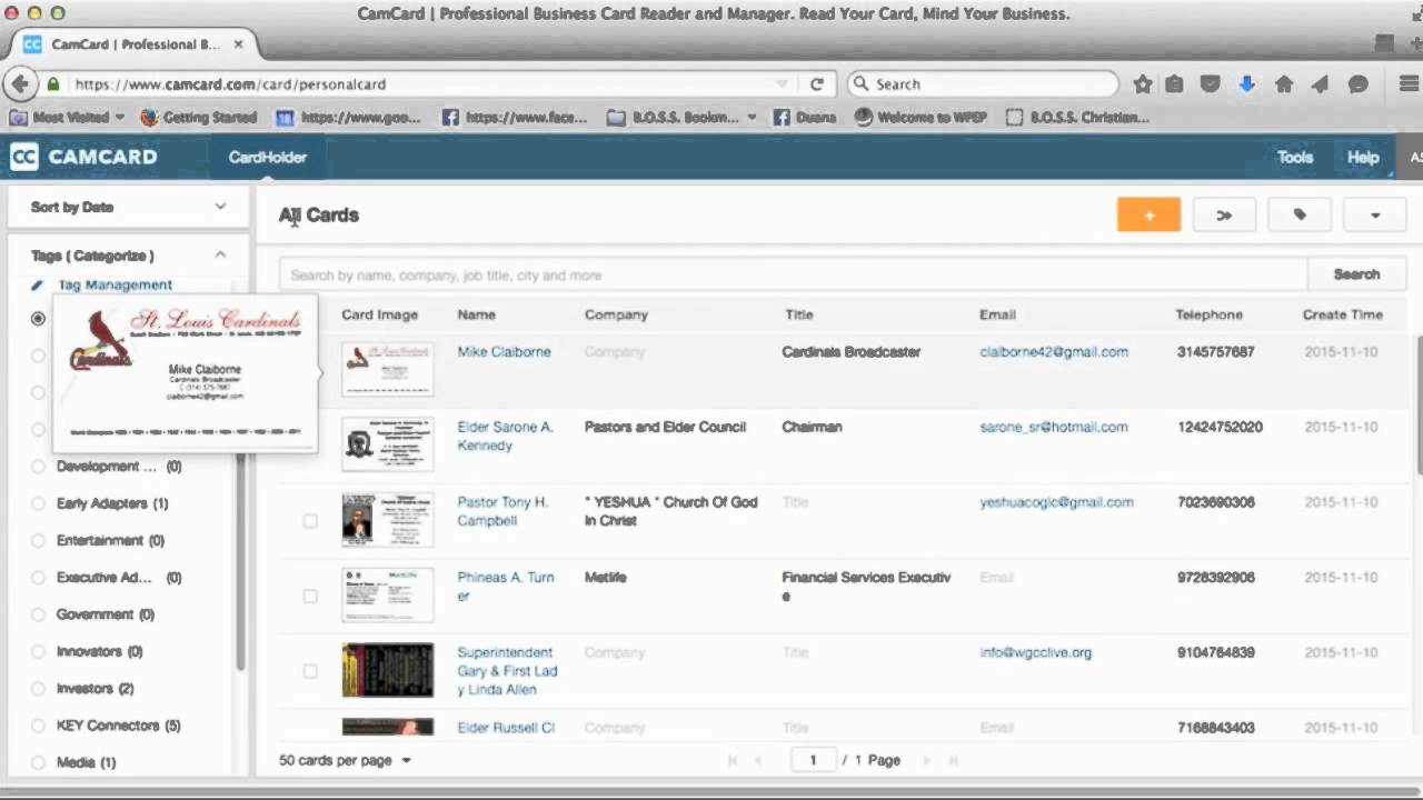 Camcard training video youtube camcard training video reheart Gallery