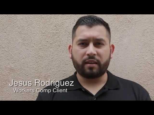 Jesus Rodriguez - Michael Burgis and Associates, P.C. Client testimonial