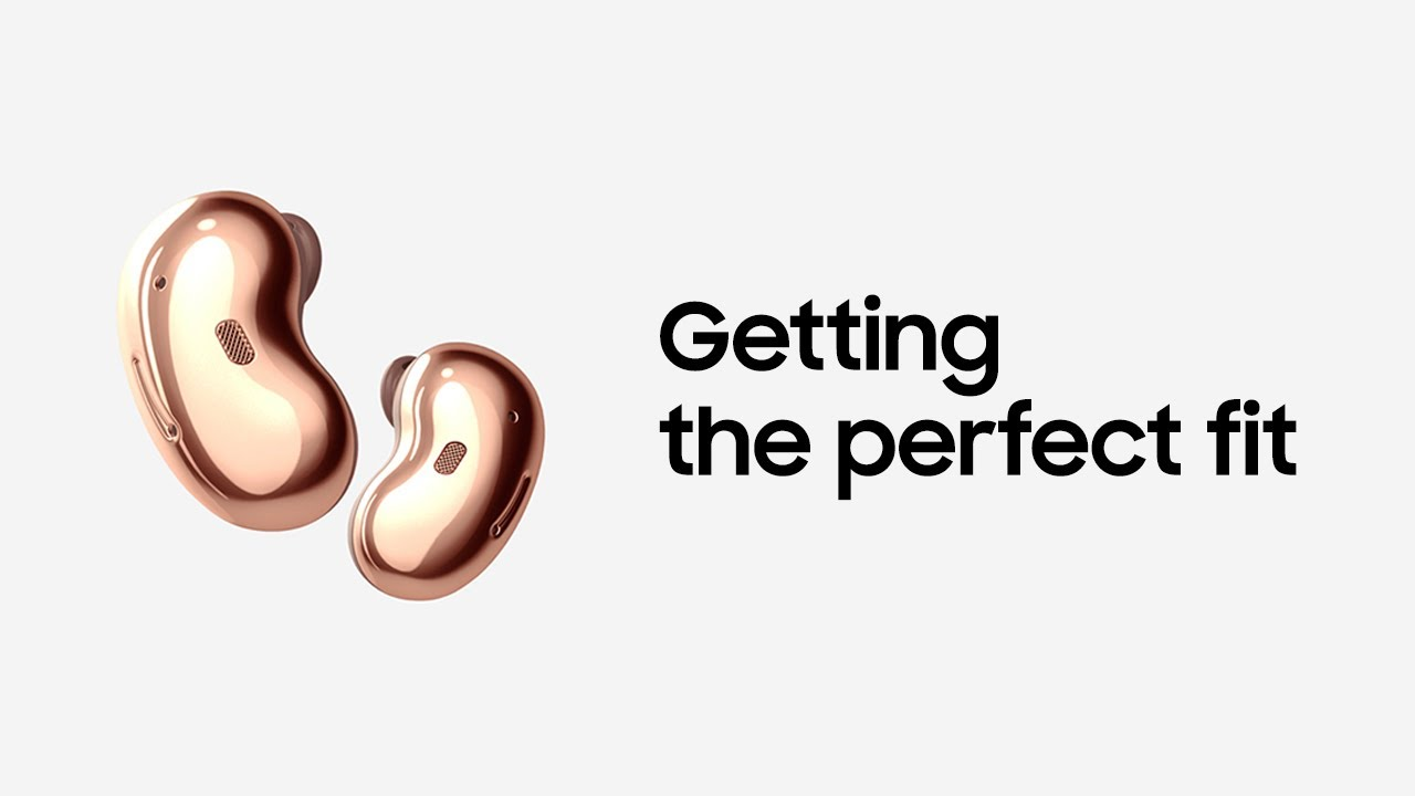 Galaxy Buds Live: Getting the perfect fit | Samsung