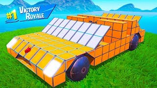BUILD THE ULTIMATE SUPERCAR FORTNITE CHALLENGE!