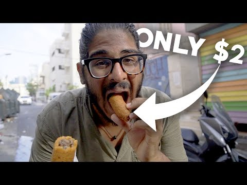 TEL AVIV FOOD GUIDE - EAT FOR SUPER CHEAP!