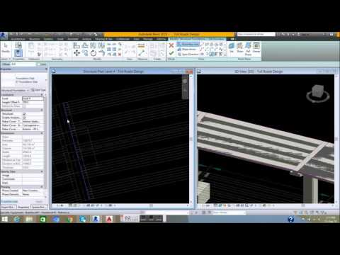 06  Design and Setting Slab - Design of Toll Road by Revit