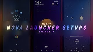 The Best Nova Launcher Setups #10