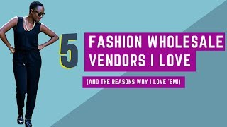 Fashion Wholesale Clothing Vendor Reviews | 5 boutique clothing vendors I love ( + why)