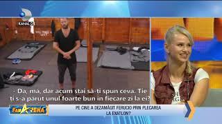 FanArena (11.10.2018) - Pe cine a dezamagit Ferucio prin plecarea la Exatlon? Partea 2