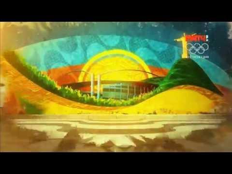 Заставка Олимпийских игр на Матч ТВ
