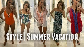 Summer Style | What I Wore on our Cruise Vacation | Lisa J Makeup