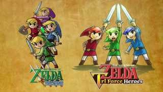 Let's Play The Legend of Zelda: Tri Force Heroes with Mr. Aonuma