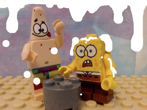 lego spongebob wet painters